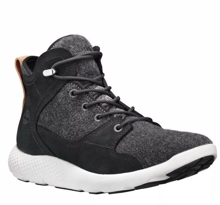 美国代购男款\u2019s鞋Timberland添柏岚FLYROAM HIKER靴子黑色M