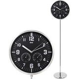doci floor-to-ceiling clock 12 inch creative living room bedroom silent personality clock fashion seat clock modern vertical clock