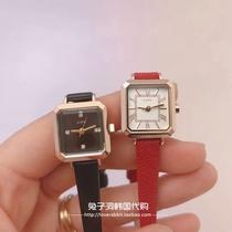 时尚潮流手表果冻防水韩版指针式日韩腕表黑色表盘系列QQ2015包邮