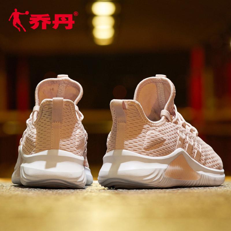 乔丹女鞋跑步鞋运动鞋女2019夏季新款女网鞋轻便透气跑鞋休闲鞋子