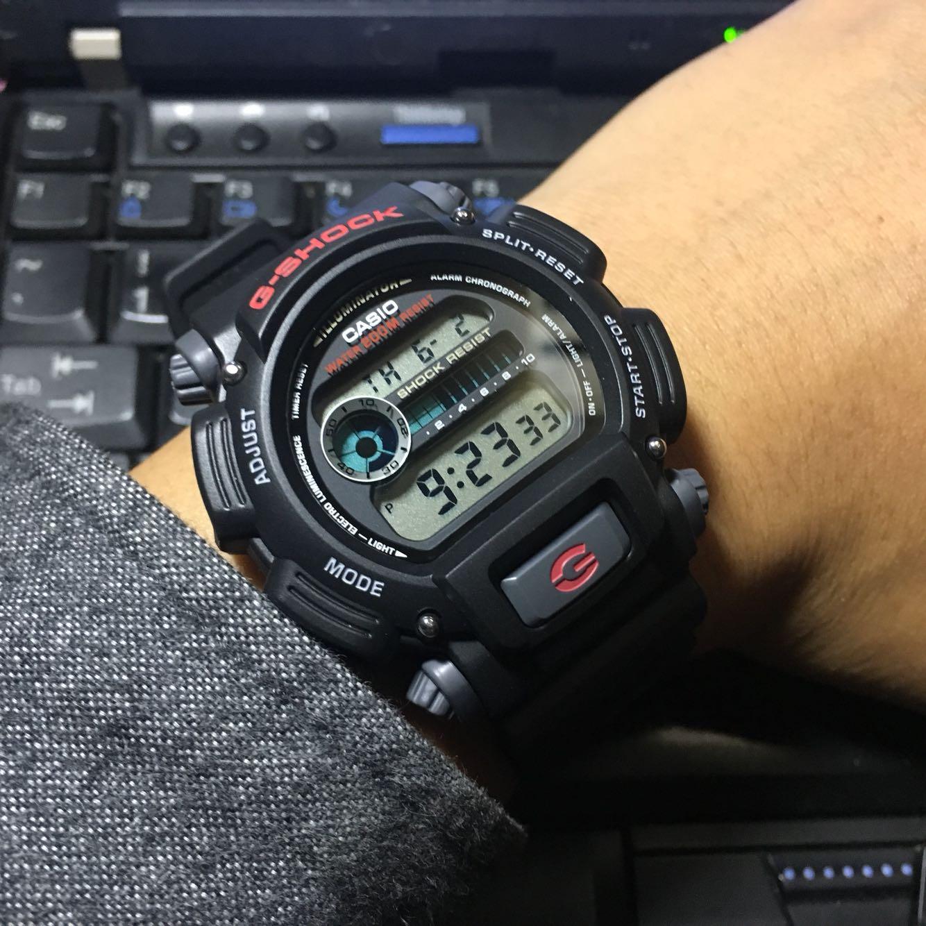 G Shock Dw 9052 1v4 Casio 2v 1v
