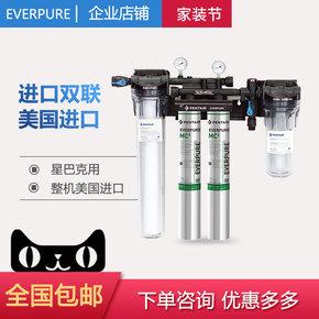 美国爱惠浦MC2 双头双联机头商用净水器厨房餐饮自来水过滤直饮机