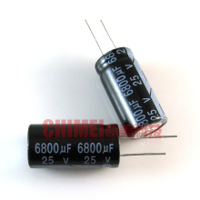 New original electrolytic capacitor 6800UF 25V capacitor electronic components 3C digital accessories