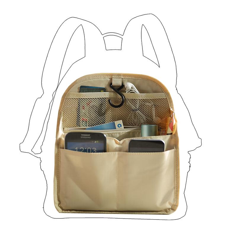 双肩包内胆包背包包中包竖款书包收纳整理袋超轻内撑包中包分隔袋