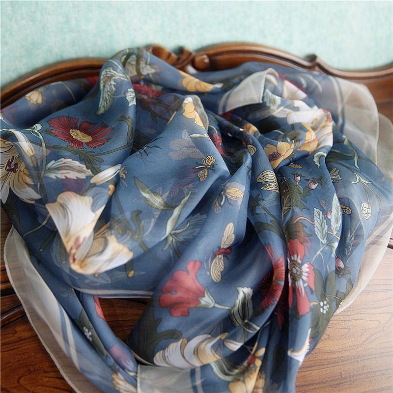 Женские шарфы из шифона Артикул 589065084611