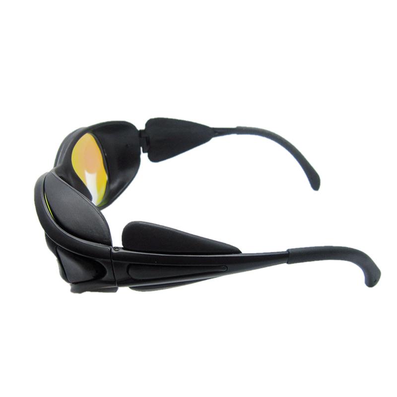 包邮532nm激光防护眼镜480-580nm绿光洗眉洗纹身镭射反射式护目镜