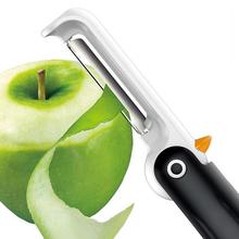 安雅837企鹅折叠削皮器 可立式多功能不锈钢便携折叠水果削皮刀