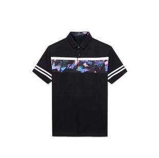 2019新款POLO衫短袖t恤男品牌休闲热卖印花透气短袖t恤2V072