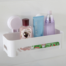 Korean bathroom kitchen traceless strong double suction cup shelf sundries shelf delivery auxiliary paste