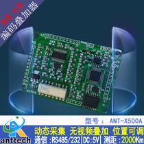 ANT-QLX500A 通用增量型旋转编码器(测长测距)视频字符叠加器