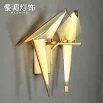 北欧后现代艺术壁灯简约美式壁灯圆形玻璃球壁灯走廊过道床头壁灯