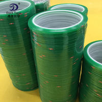 Green high temperature tape Card special tape PET tape High temperature green tape Superfine 2mm*2