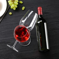 Lead-free crystal glass goblet red wine glass wine glass champagne glass gift box winery home gift glass