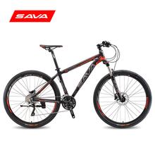 SAVA薩瓦山地車自行車男女式30速禧瑪諾XT變速27.5寸雙碟剎鋁合金