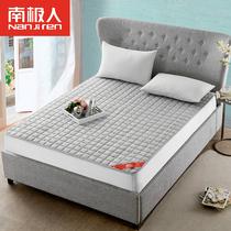 2双人床褥垫被1.5米1.35m1.8法兰绒保暖床垫子榻榻米学生宿舍