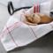 苏黎世家居 厨房布艺棉麻餐巾 创意北欧简约条纹清洁布餐厅擦杯布