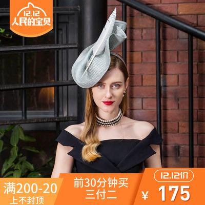 EE设计师原创 2018夏季新款英式正装小礼帽 优雅名媛帽子女