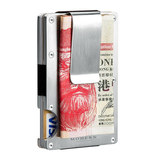 Aluminum wallet holders for men and women ultra-thin multi-card credit wallet trend