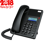 Enterprise E302 IP phone VoIP phone sip phone three-way call can be equipped with headphones
