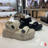 T9A1D 休闲坡跟松糕厚底女凉鞋 百丽凉鞋 T9A1 国内代购 正品 2019夏款图片