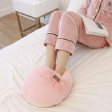 Home detachable plush foot warmer treasure usb heating warm ankle Winter large safety female warm foot warmer