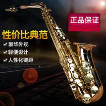 萨克斯风管大人初学556演奏乐器bastet降萨克斯e高档考级中音正品