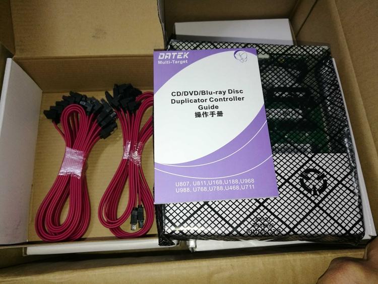 德科控制器U108U168一拖十一光盘拷贝机控制器dvd刻录塔模块拖头