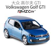 RMZ city裕丰 Golf GTI 大众高尔夫轿跑车合金轿车小汽车模型玩具