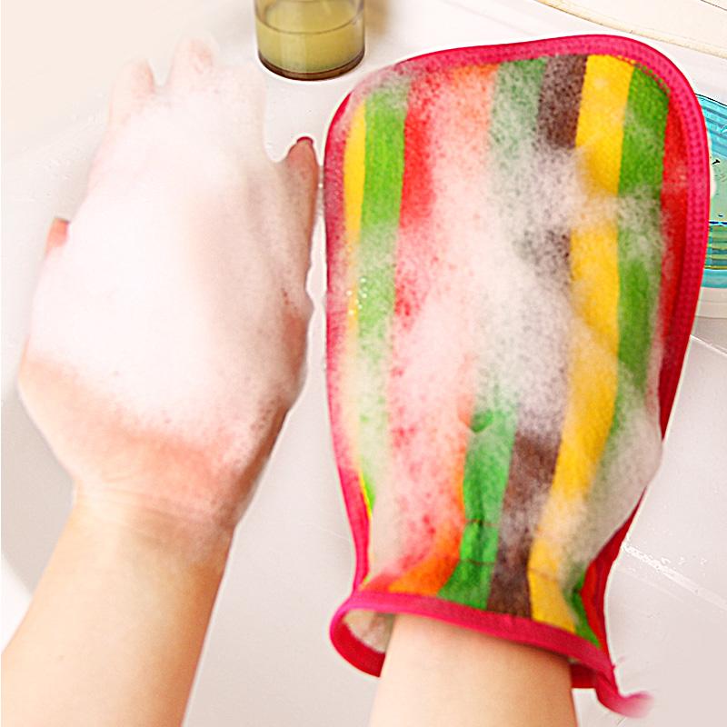 韩国搓澡巾女洗澡巾男成人强力搓灰搓泥磨砂去污双面搓背搓澡神器