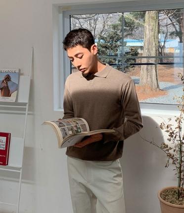 皇帝代购韩国直邮Mutnam正品时尚新款男士针织衫