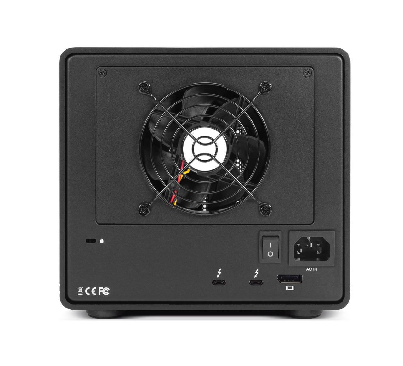 OWC ThunderBay 6 雷电3六盘位存储2.5寸/3.5寸SSD/HDD/混合硬盘