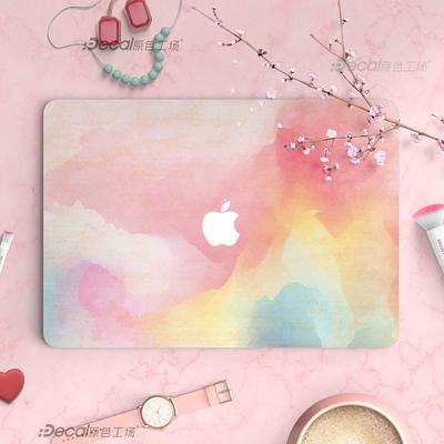 新款苹果笔记本贴纸 Macbookair彩绘保护膜Pro创意个性原色工场评测