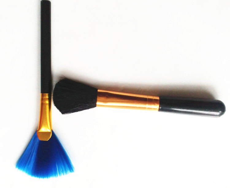 笔记本电脑清洁刷子键盘刷主板灰尘刷 桌面屏幕刷扇形长形软毛刷