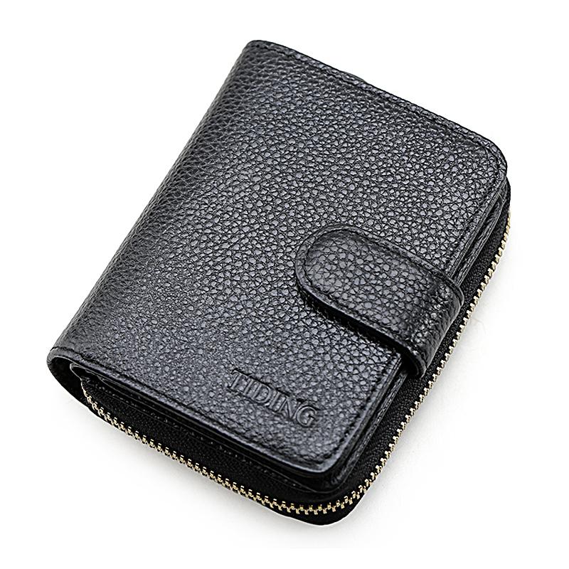 潮牛男士钱包短款真皮搭扣大容量多功能牛皮汽车钥匙包特价