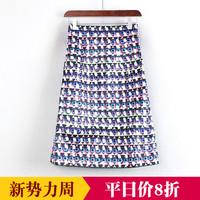 花色韩版春秋裙