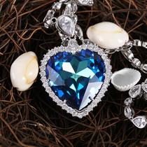 52041345347329施华洛世奇水晶黑天鹅项链锁骨链女士生日礼物