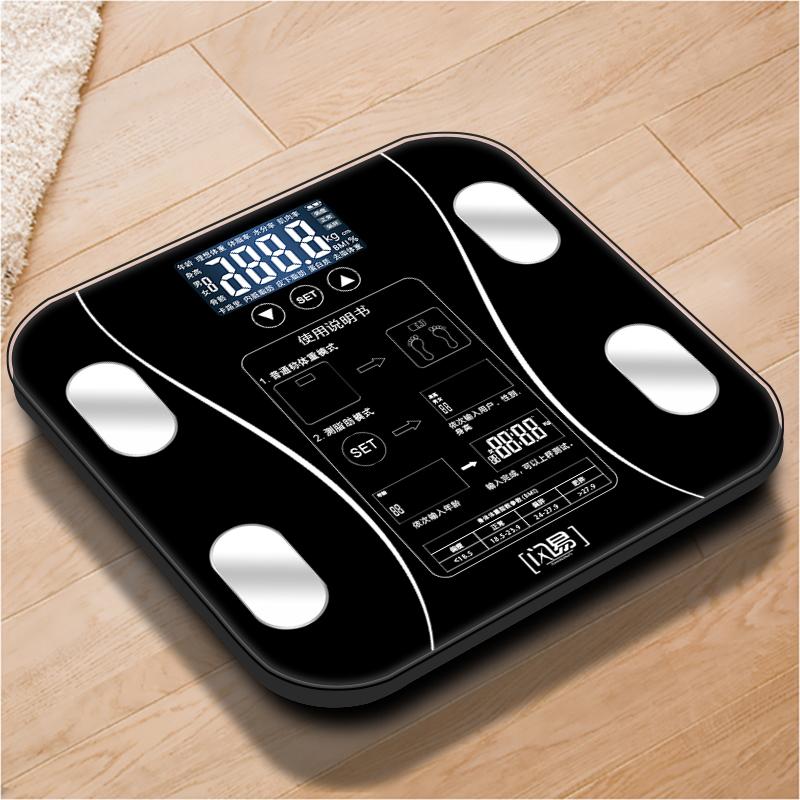爱康唯脂肪秤电子称体重秤家用成人体脂秤精准人体秤减肥称重