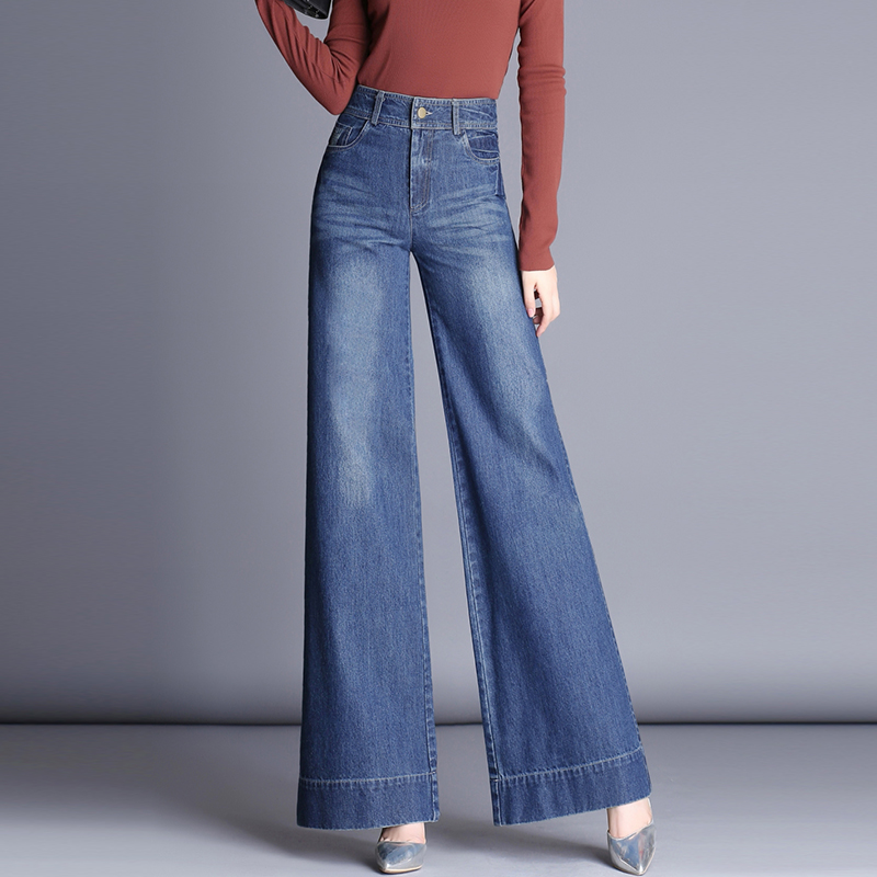 时尚牛仔女裤