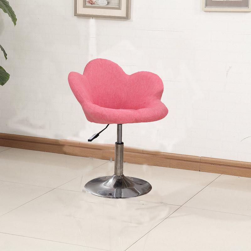 卧室创意时尚学生花朵休闲办公椅家用单人沙发椅转椅可爱电脑椅子