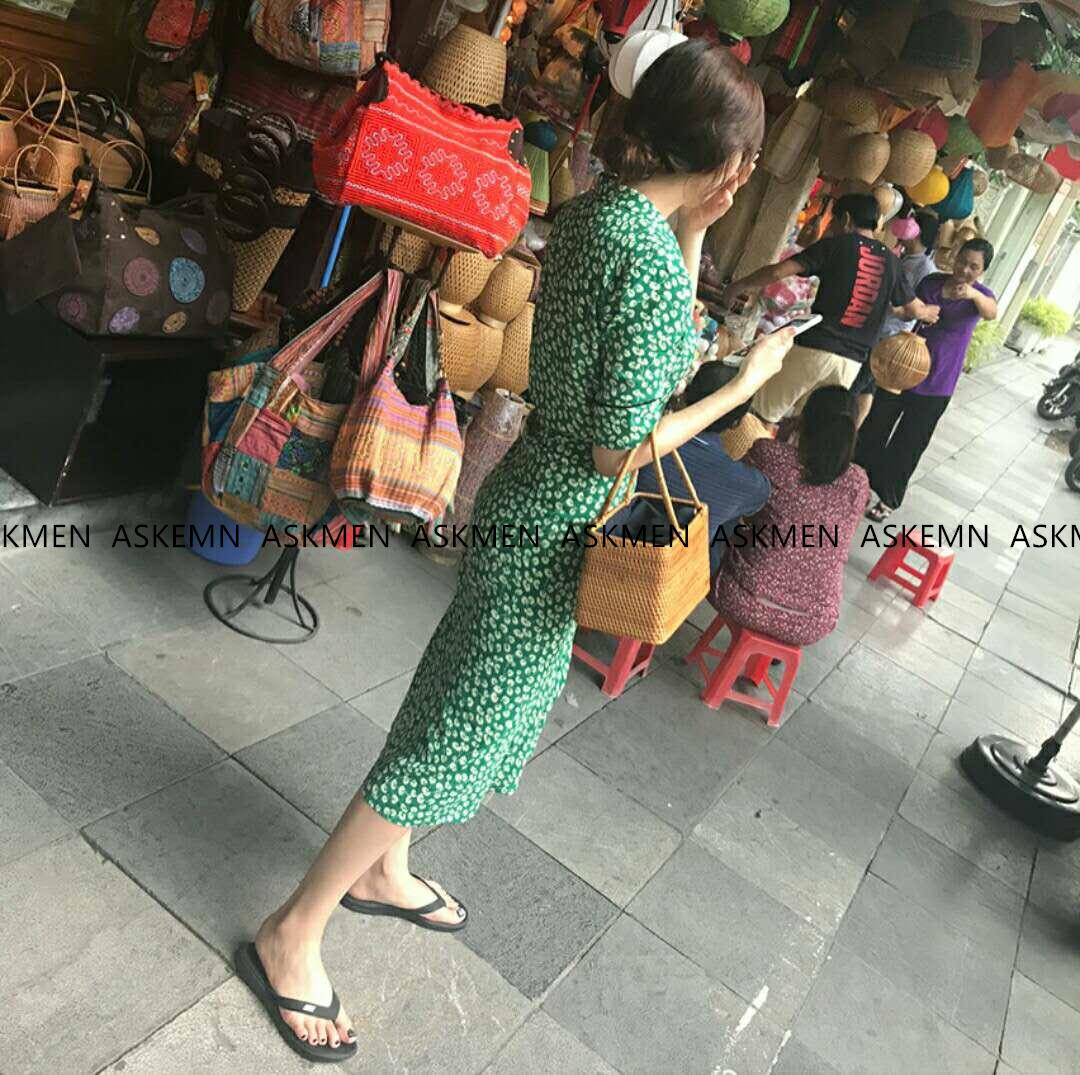 越南藤编手提包