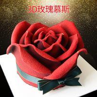 情人玫瑰花蛋糕