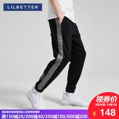 小脚裤男拼接