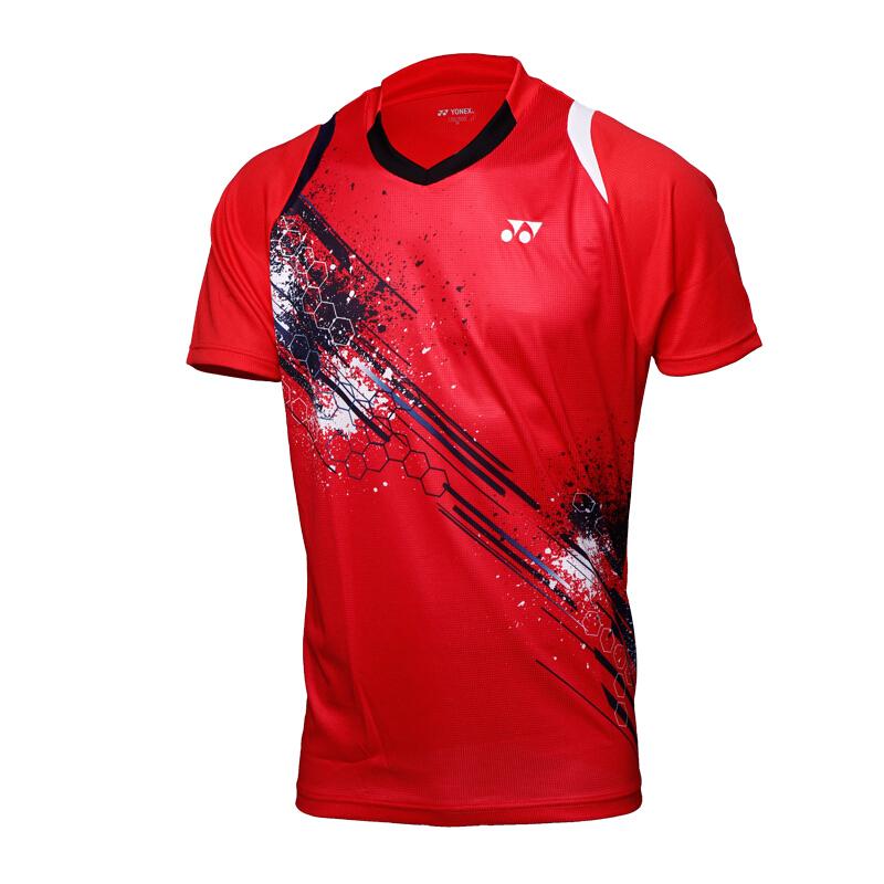 正品新款YONEX尤尼克斯羽毛球服男女款短袖T恤比赛12130/20299