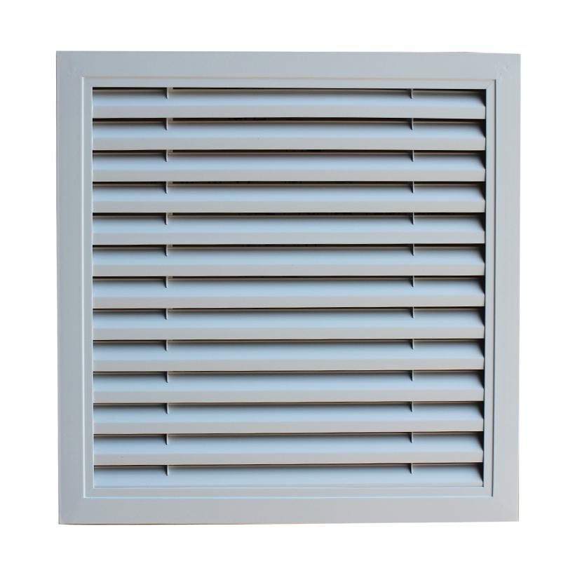 加厚地暖分水器罩 暖气片装饰罩家用暖气罩铝合金百叶窗出回风口