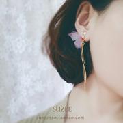 蝴蝶型耳环