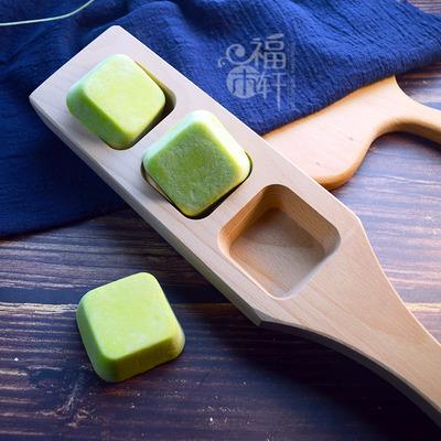 木质无图案空模方形做年糕糍耙方块蒸馒头绿豆粘糕凤梨酥烘焙模具