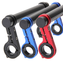 Mountainous Bicycle Extension Bracket Counting Meter Carbon Tube Lamp Bracket Riding Equipment Accessories for Motorcycle Handle Extension Bracket