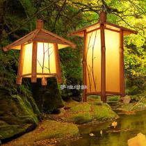 南灯记【3天内发不含灯泡】手工古纸茶室日式简约吊灯