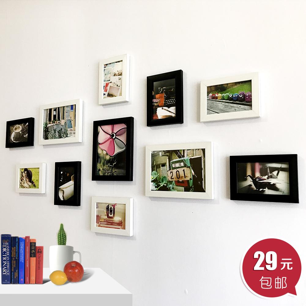 创意照片墙装饰画