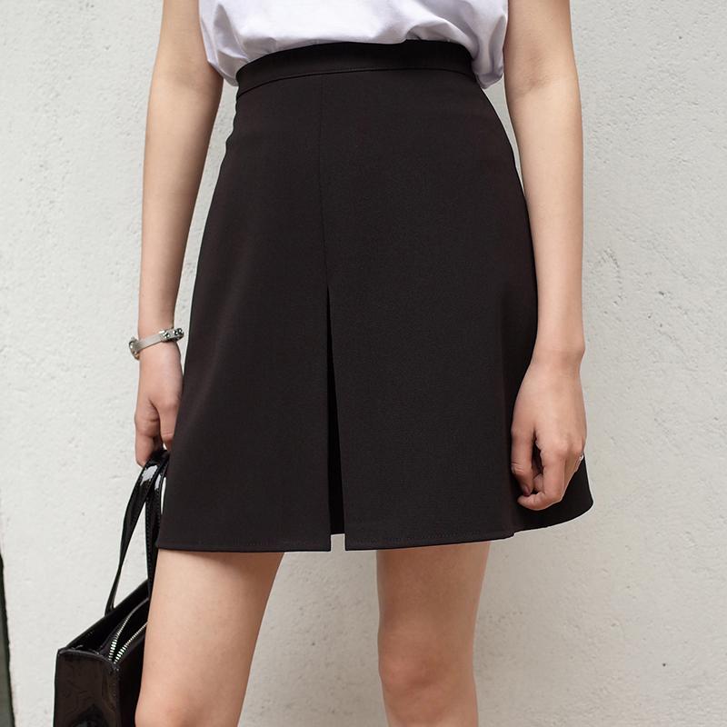 高腰春装短裙